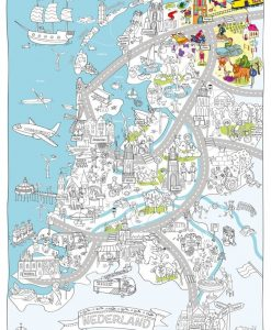 Very Mappy Nederland Kleurplaat