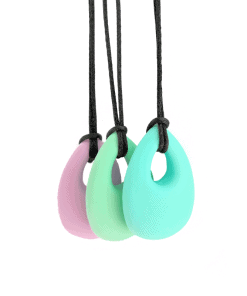 bijtketting drop pastel
