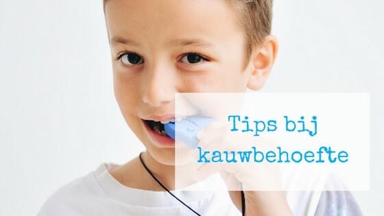 tips bij kauwbehoefte