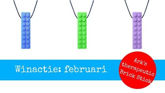 winactie februari bijtketting ark therapeutic brick stick