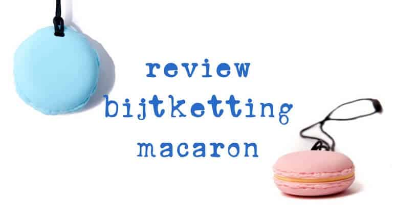 review bijtketting macaron