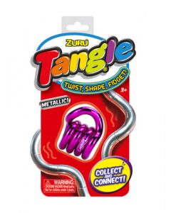 Tange junior metallic magenta