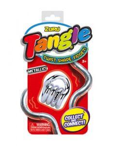 Tange junior metallic silver
