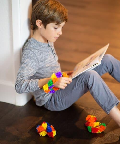 Zuru Tangle Junior Hairy sensorisch speelgoed