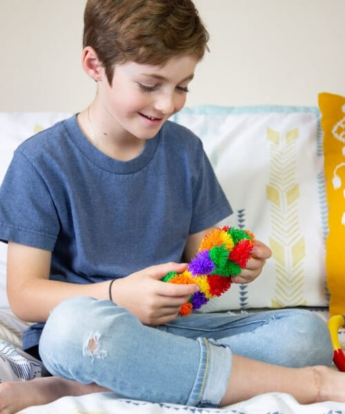 Zuru Tangle Junior Hairy fidget speelgoed