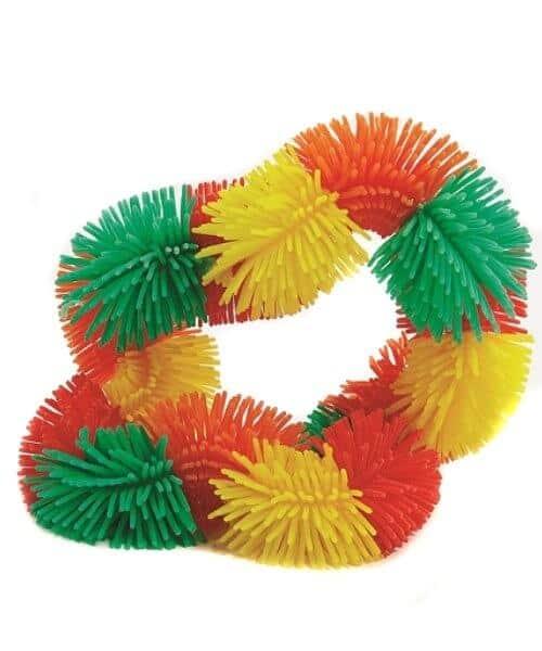 Tangle Hairy junior groen, geel, oranje, rood