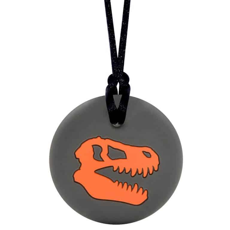 Munchables Dino Skull oranje