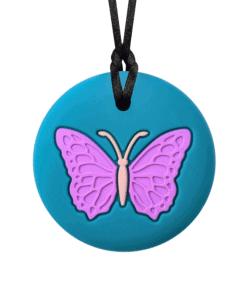 munchables bijtketting butterfly aqua