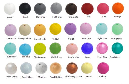 Kleuren bijtketting
