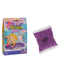 Glibbi Eenhoorn Glitter Paars