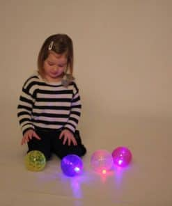 Grote lichtgevende sensorische ballen