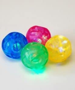 Kleine lichtgevende ballen