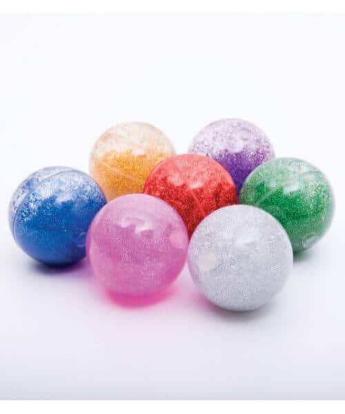Sensorische glitterballen set