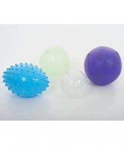 Sensorische opblaasbare ballen set