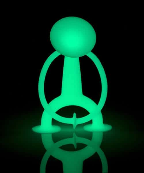 Moluk oogi glow in the dark sensorisch speelgoed