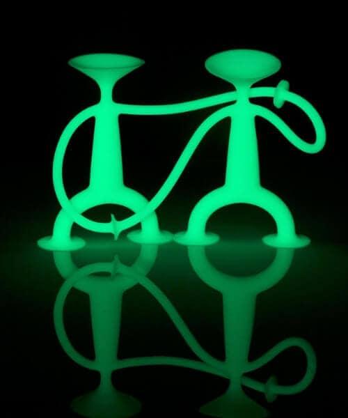 Moluk oogi glow in the dark poppetjes