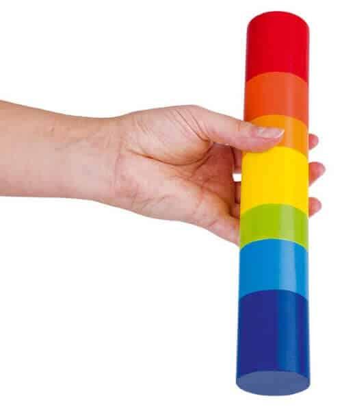 Goki houten regenstaaf sensorische speelgoed