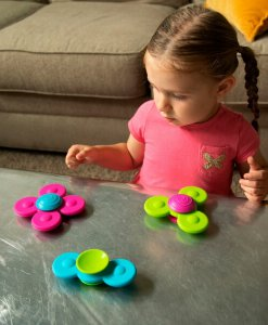 Whirly Squigz fidget spinner