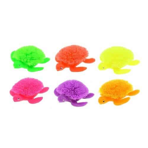 Fluffy Schildpad friemelspeelgoed