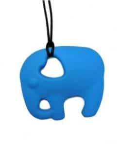 bijtketting olifant blauw