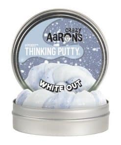 Crazy Aaron's Thinking Putty white out