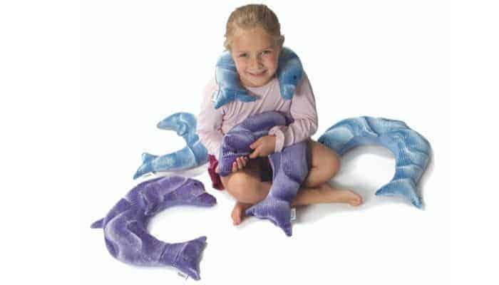 Proprioceptie; Een verzwaringsknuffel kan kinderen met prikkelverwerkingsproblemen rust bieden.
