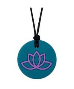 Munchables Lotus Kauwketting turquoise