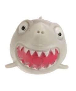 Squidgy Splat Shark grijs