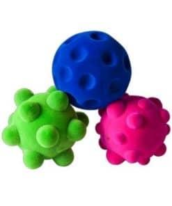 Set van 3 Rubbabu Mini Ballen