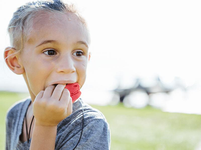 Populaire kauwsieraden kind voor kinderen met een kauwbehoefte