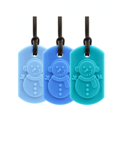 ark therapeutic Snowman bijtketting