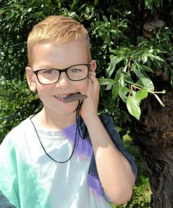 bijtketting haaientand voor kinderen met kauwbehoefte