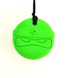 bijtketting ninja groen