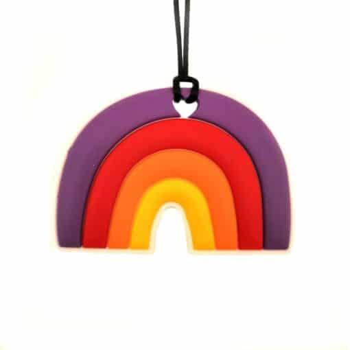 bijtketting regenboog multi
