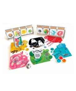 Het Kleurenmonster coöperatief bordspel voor kinderen