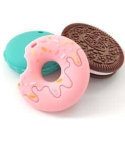 Kauwsieraden Startpakket Cookie, Donut en Macaron