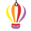 bijtketting luchtballon paars