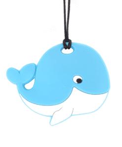 bijtketting walvis blauw